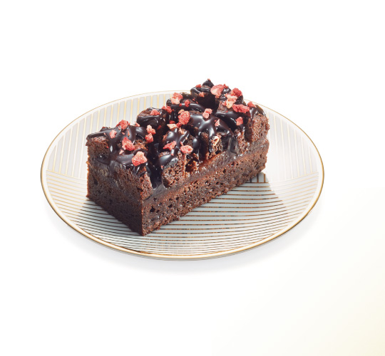 Brownie Red Berries